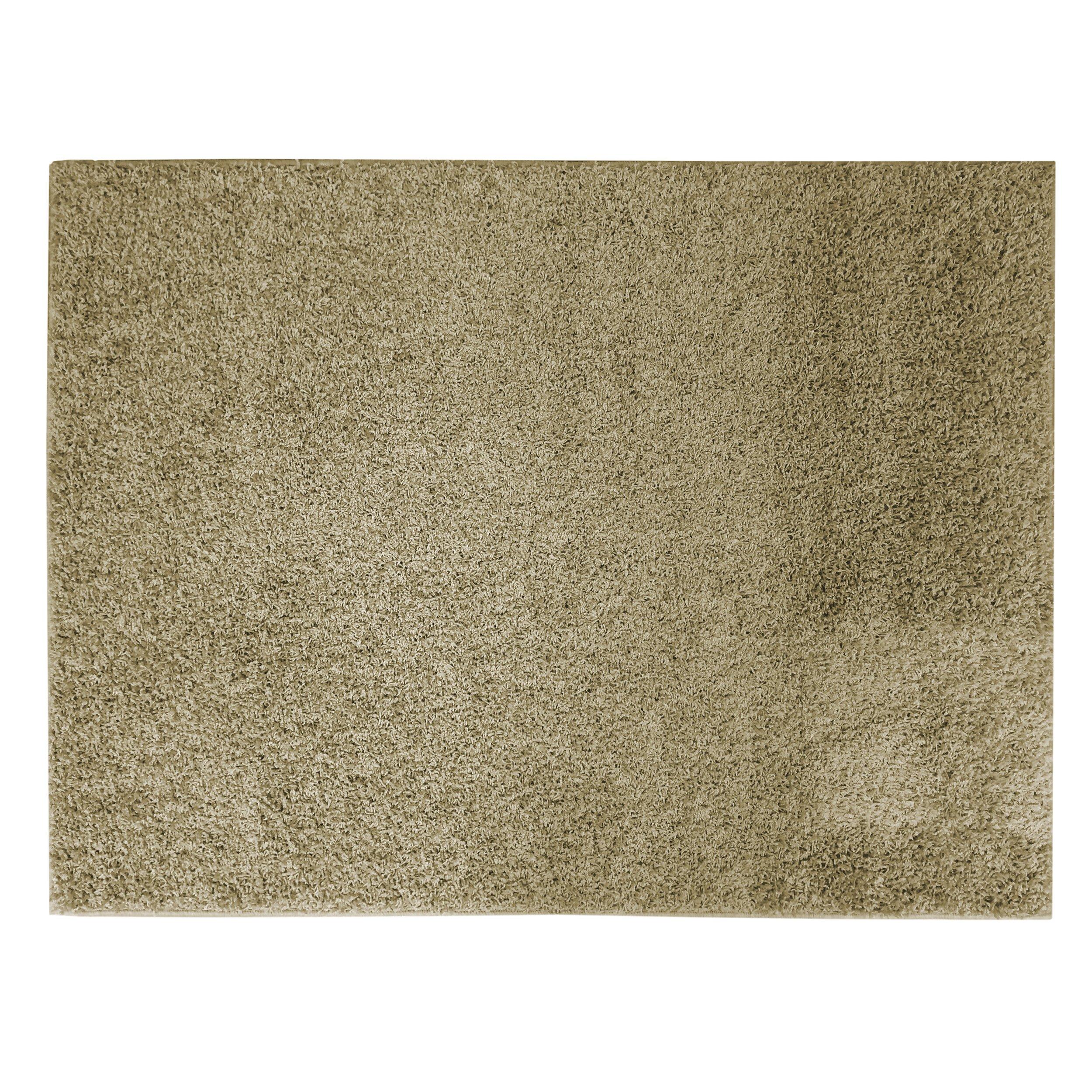 Soft Settings Shag Rug, 7-Feet by 10-Feet, Olive by Apache Mills