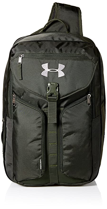 Under Armour Unisex Compel Sling 2.0, Artillery Green (357) Black, One 028f7f5d73