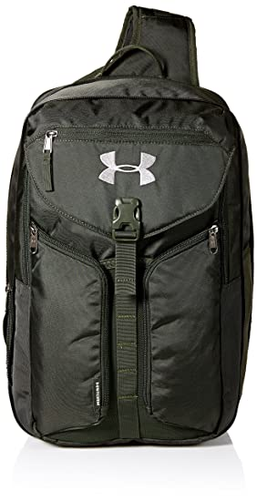 wholesale dealer ed5f2 362f9 Under Armour Unisex Compel Sling 2.0, Artillery Green (357) Black, One