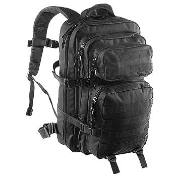 Mochila militar/de combate táctica con sistema MOLLE, de Clarkson Goods. Capacidad de 36 L, color negro.: Amazon.es: Deportes y aire libre
