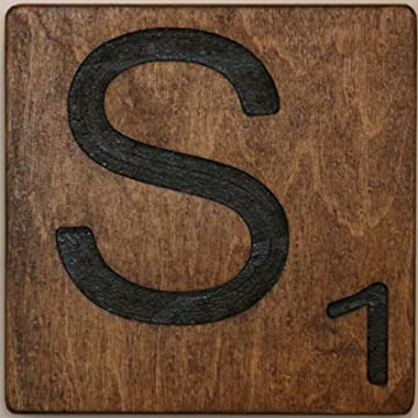 Large Scrabble Letter Tile (8 x 8 Medium, S)