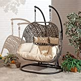 Rattan Daybed Garden Daybed With Moveable Canopy In Soft