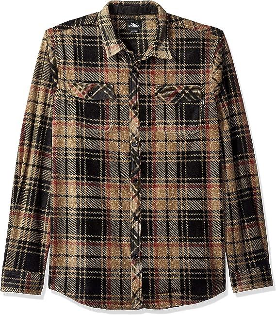 ONeill Hombre FA7104312-P Manga Larga Camisa de Vestir: Amazon.es: Ropa y accesorios