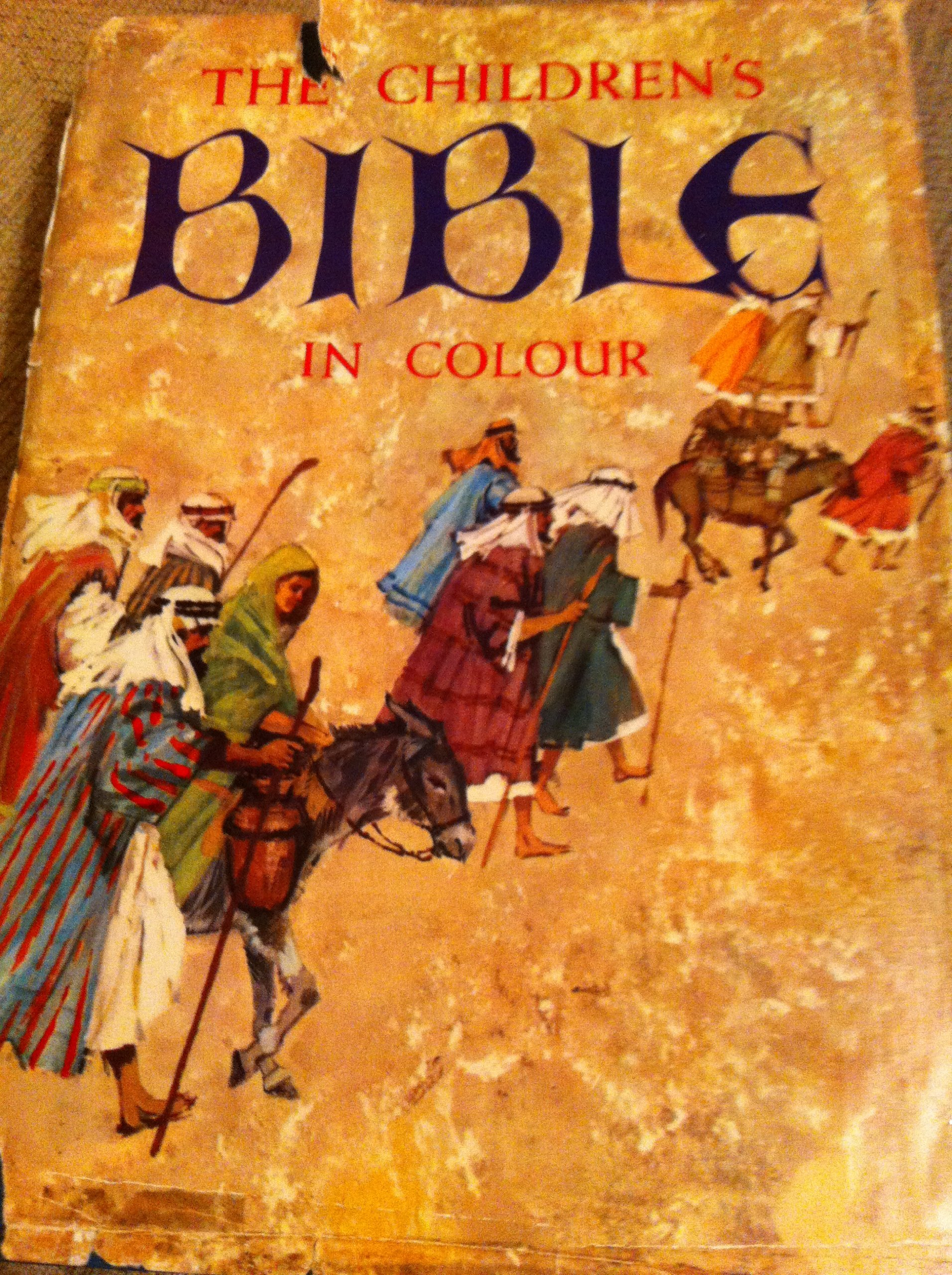 The Children S Bible In Colour Amazon Co Uk Books