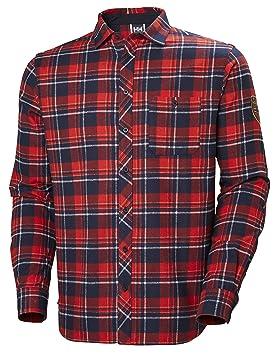 Helly Hansen Hombre HH Norse Flannel LS Camiseta: Amazon.es: Deportes y aire libre