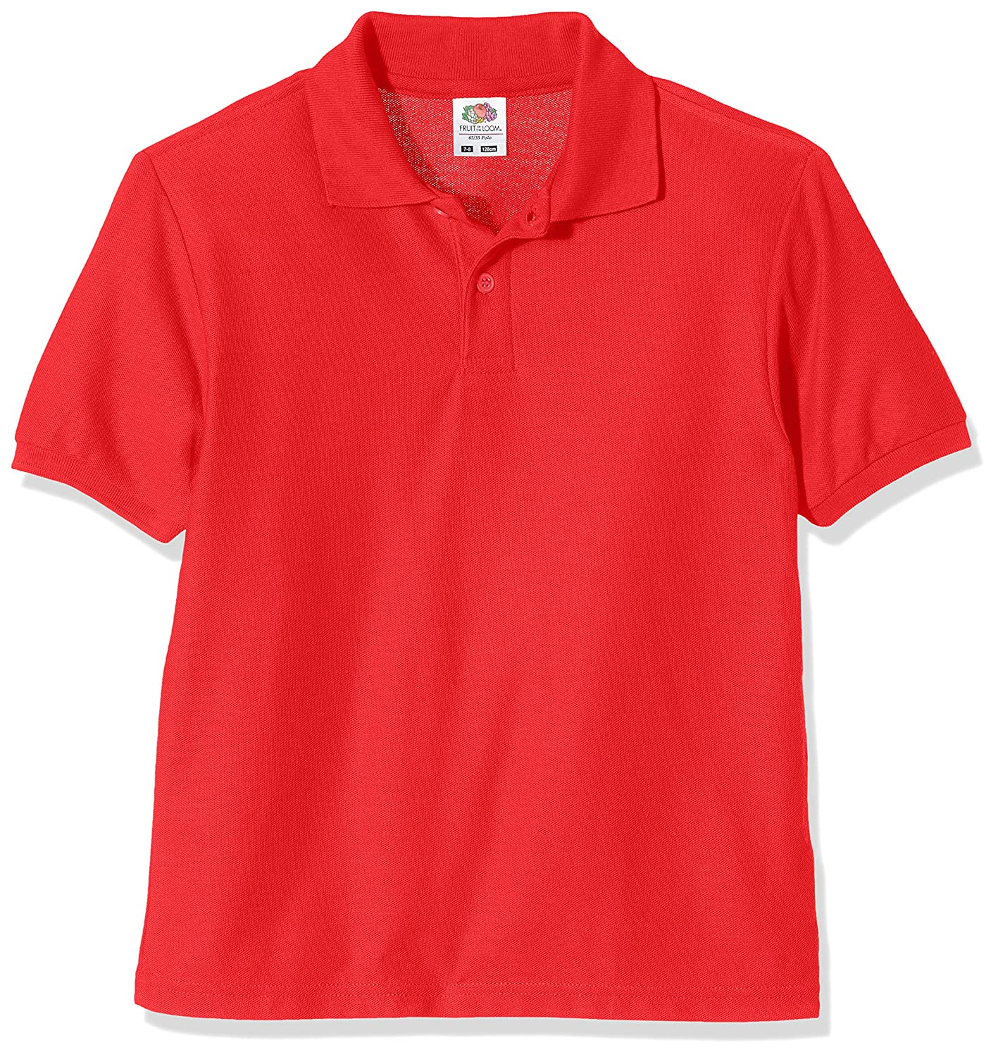 Fruit of the Loom Unisex Kids Polo Shirt 63-417-0