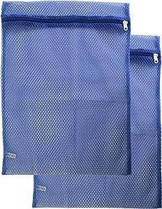 Gilbin Mesh Zippered Laundry Sock Bag 14x18