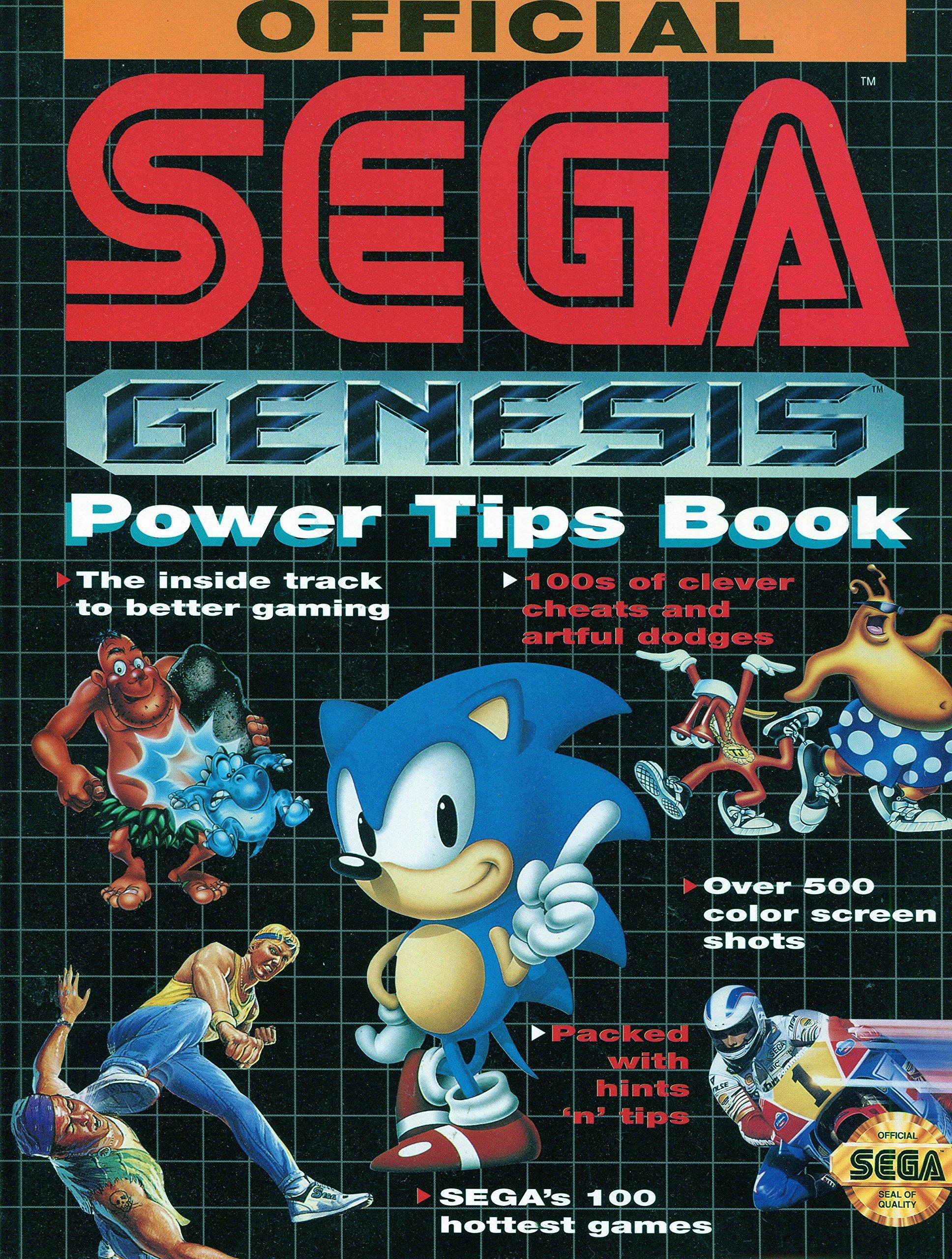 Official Sega Genesis Power Tips Book Prima 9781559582841 Amazon Com Books