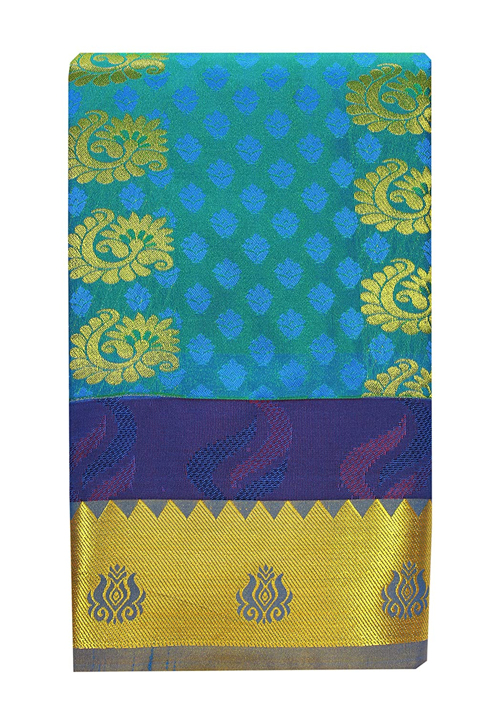Saravanabava Silks - Kanchipuram Silks Sarees (Art Pattu Butta Empossed SRBS01212)