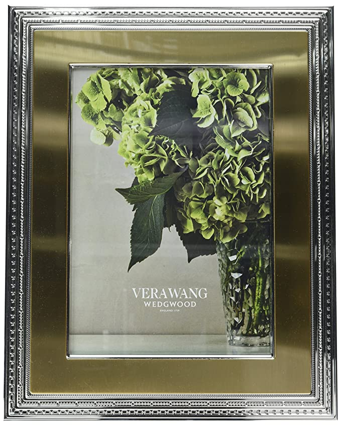 Amazon.de: Vera Wang Wedgwood Bilderrahmen, Mit Love Gold 10.16 cm x ...