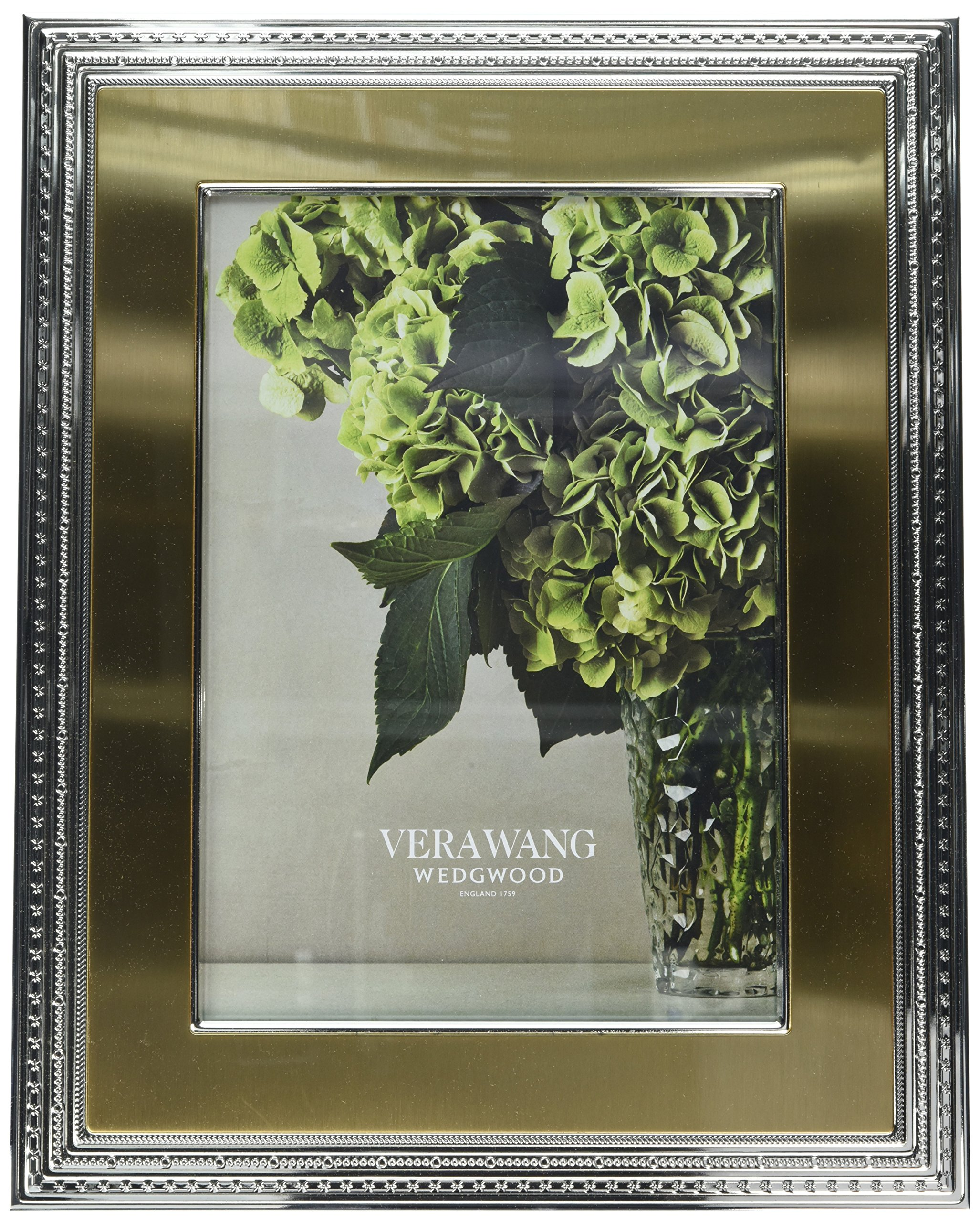 Wedgwood Vera Wang with Love Frame, 8 by 10-Inch, Gold