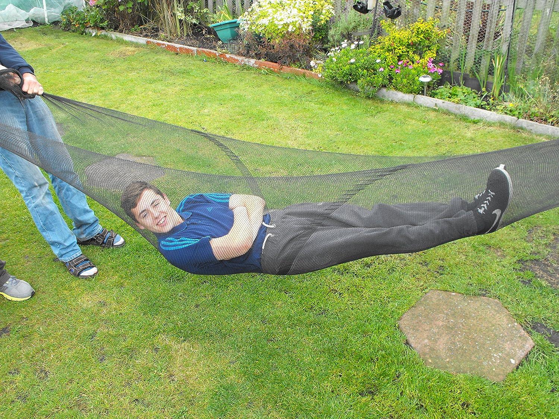 Schwarzes Netz 4m breit 3–4mm dick Polyethylen-Netz