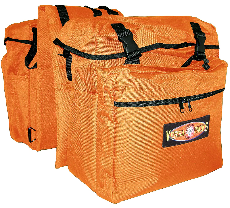 Hamilton Versa-Packs Equine Back Pack/Saddle Bag, Orange VP-100OR