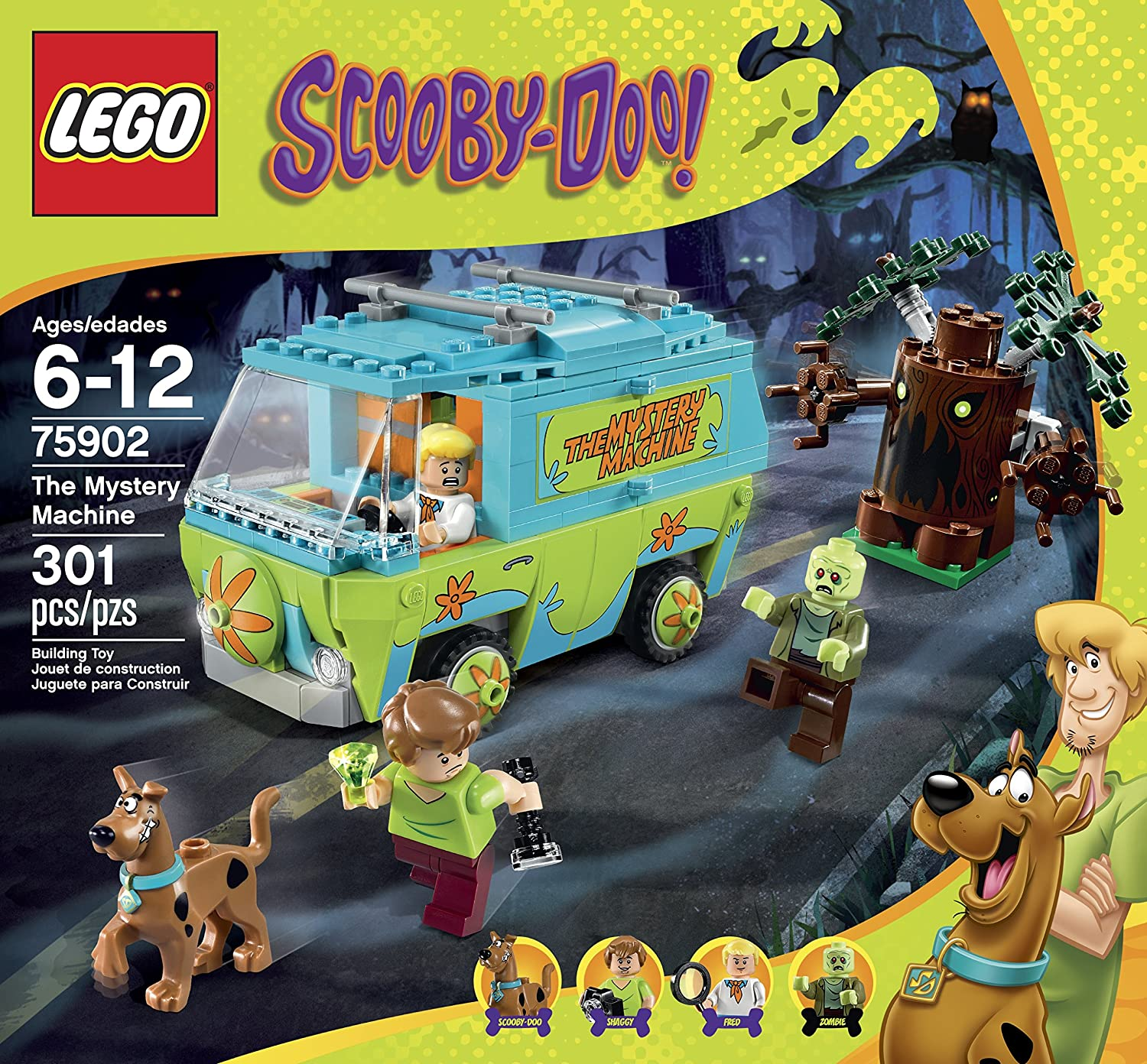 Scooby doo the The mystery machine the mystery Lego 75902 scooby Blocks Toys