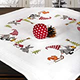"/""Orchids/"" Tablecloth Kit for Embroidery Duftin 1282"