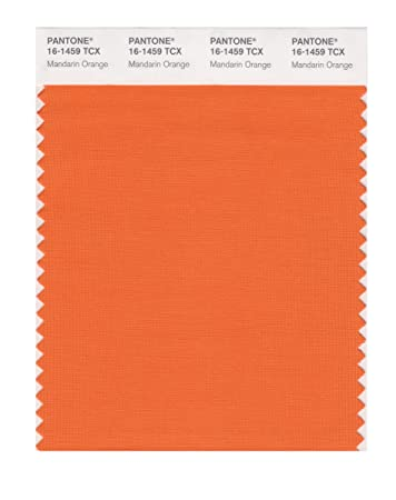PANTONE SMART 16 1459X Color Swatch Card, Mandarin Orange