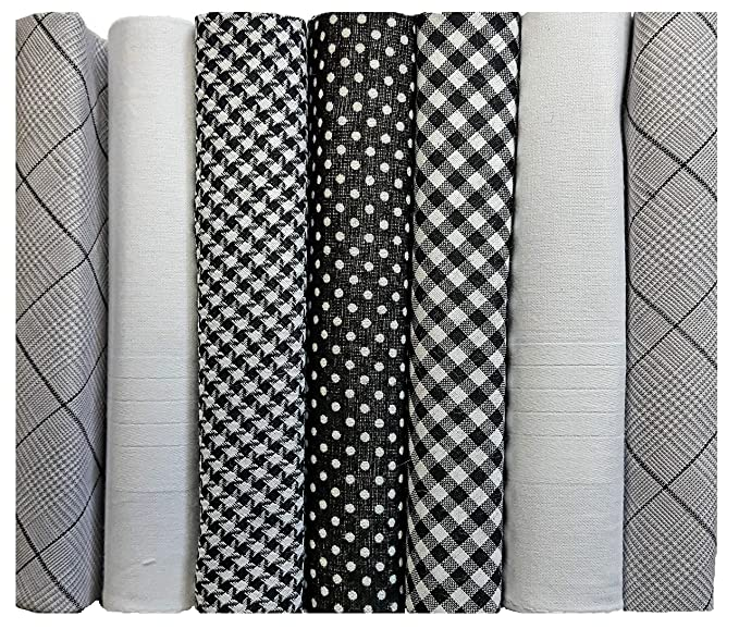 Mens white Grey and Chequered handkerchiefs 3-pack 100/% cotton.