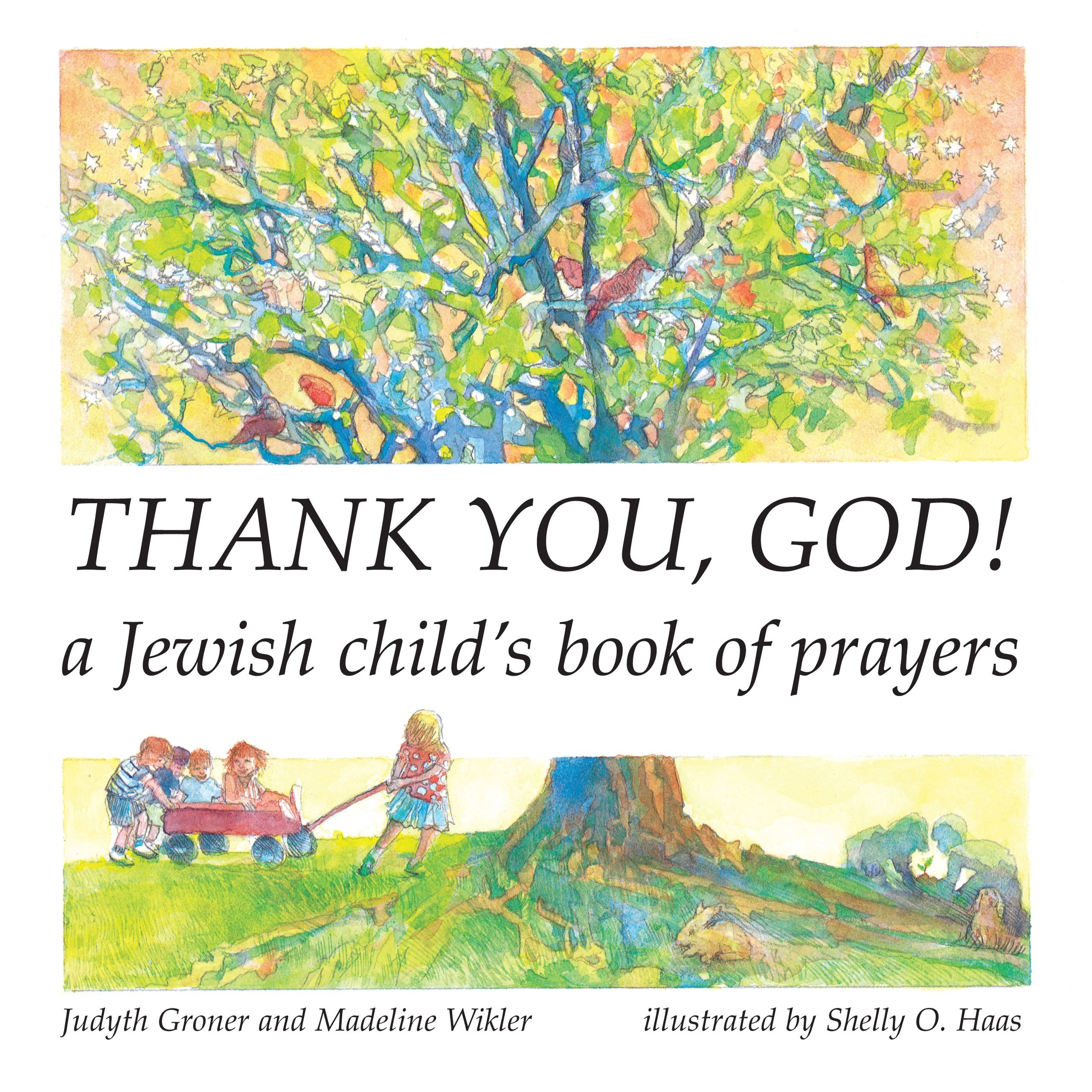 photo relating to Shabbat Blessings Printable named Thank By yourself, God! A Jewish Childs E-book of Prayers (English