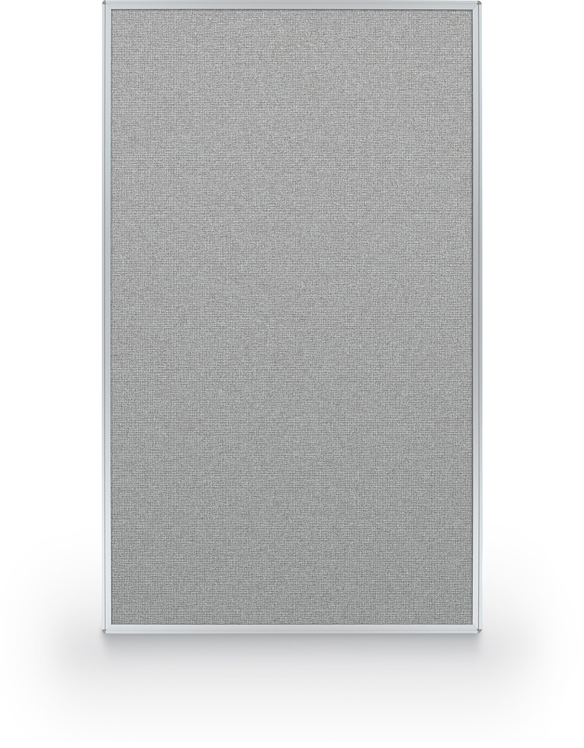 Best-Rite 60 x 36 Inch Standard Modular Divider Panel, Gray Fabric Panel, (66215-88)