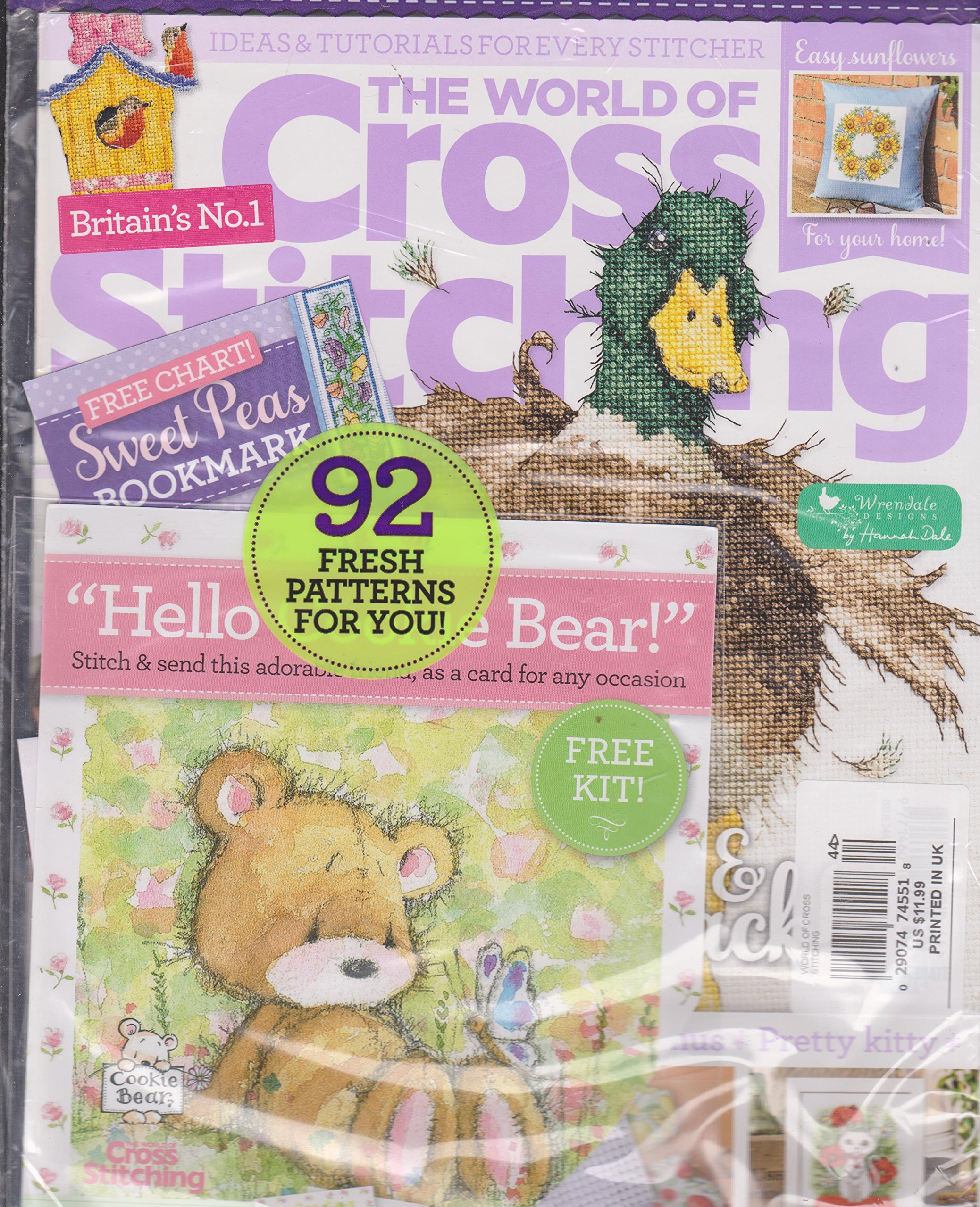 Download The World of Cross Stitching Magazine Issue 244 PDF