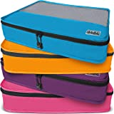 Dot&Dot Large Packing Cubes for Travel - Luggage Accessories Organizers Set