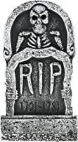 "Pack of 4 Halloween Décor 17"" Foam RIP Graveyard Tombstone Halloween Decorations RIP"