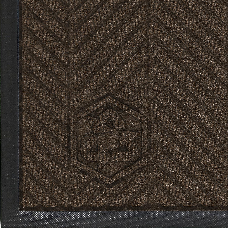 6-Feet Length X 4-Feet Width for Indoor Andersen 2240 Black Smoke Pet Polyester Waterhog Eco Elite Entrance Mat
