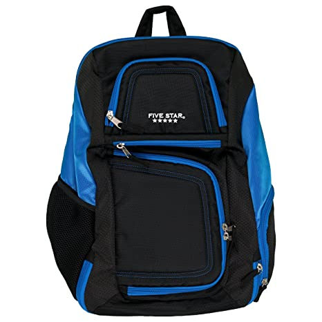 Five Star Backpack With Insulated Storage, Back Pack, Blue (73292)