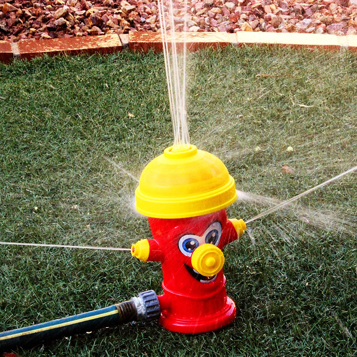 JOYIN Fire Hydrant Water Sprinklers for Kids Kids Sprinkler Water Toys for Outdoor Yard and Summer Fun Activities