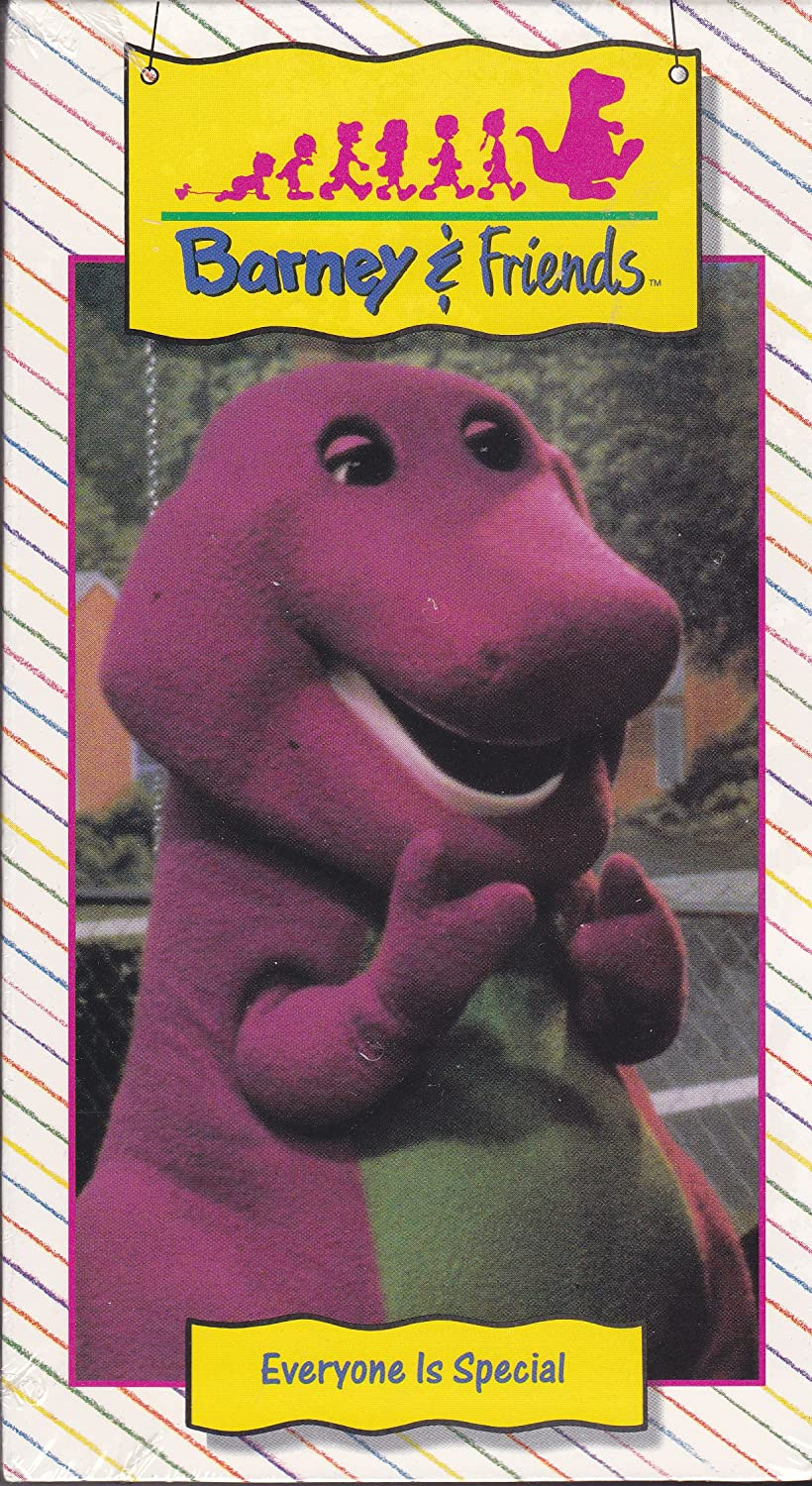 amazon com barney everyone is special vhs barney movies u0026 tv