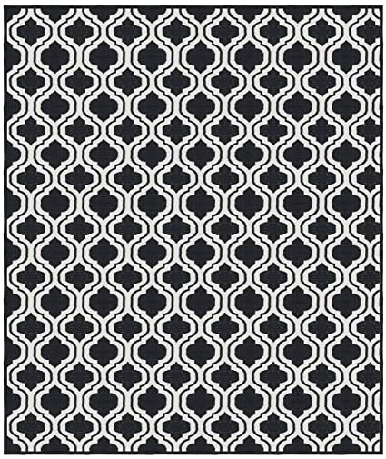 Saral Home Abstract Design Jacquard Floor Carpet -120x180 cm