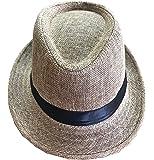 CLUB CUBANA Fedora Hats Men Women Unisex Trilby Hat Panama Style Summer Beach Sun Jazz Cap