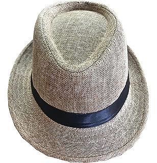 25ba9d86270 CLUB CUBANA Fedora Hats Men Women Unisex Trilby Hat Panama Style Summer  Beach Sun Jazz…