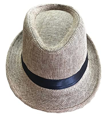 CLUB CUBANA Fedora Hats Men Women Unisex Trilby Hat Panama Style Summer  Beach Sun Jazz Cap cd25be92b570