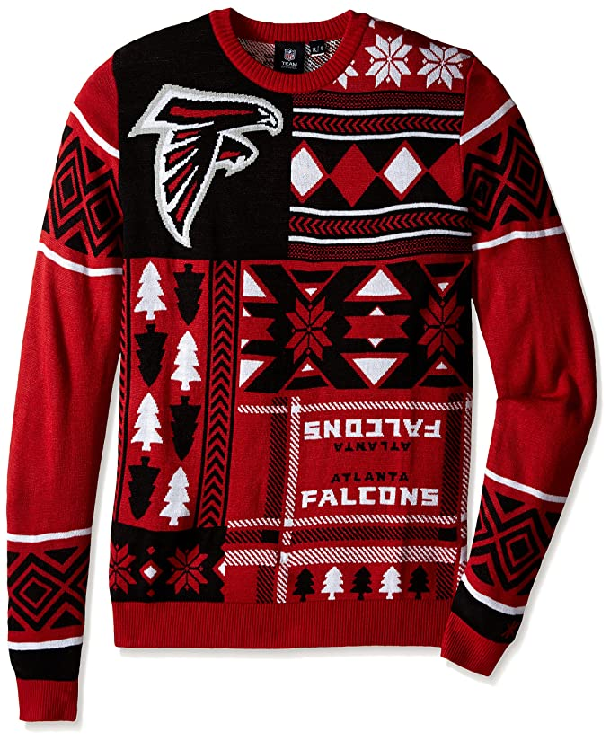 Amazoncom Nfl Patches Ugly Sweater Pick Team Sports Outdoors
