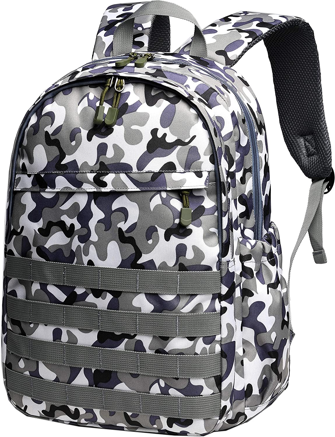 Boys Backpack Waterproof Kids School Bag Outdoor Travel Camping Daypack Camo Rucksack