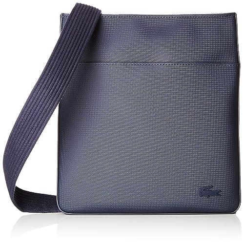 Lacoste - Nh2850hc, Shoppers y bolsos de hombro Hombre, Azul (Peacoat), 3x28x26 cm (W x H L): Amazon.es: Zapatos y complementos