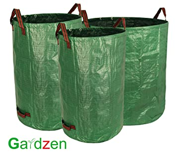 Amazoncom Gardzen 3 Pack Garden bag 324072 Gallons Reuseable
