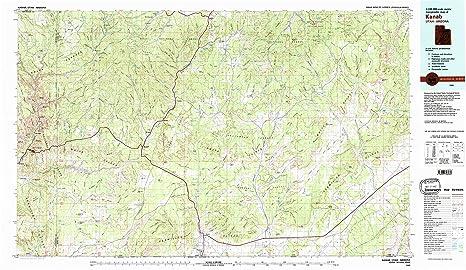 Amazon.com : YellowMaps Kanab UT topo map, 1:100000 Scale, 30 X 60 on 89 scenic byway utah map, hanksville utah map, paria canyon utah map, north logan utah map, sigurd utah map, panguitch map, magnitude earthquake in utah map, benjamin utah map, mesquite nevada map, utah state map, pink cliffs utah map, silver reef utah map, south rim utah map, minersville reservoir utah map, arizona utah map, brianhead utah map, kane county utah map, spring ridge map, scenic highway 12 utah map, dead horse point utah map,
