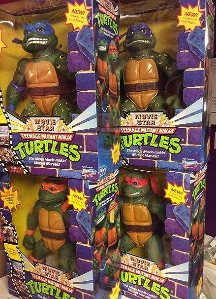 Amazon Com Teenage Mutant Ninja Turtle 13 Movie Star Figures Set