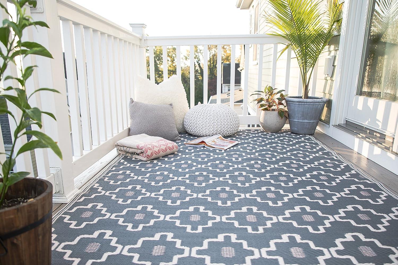 alfombras jardín