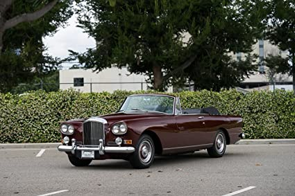 Amazon Bentley S3 Continental Convertible By Mulliner Park Ward