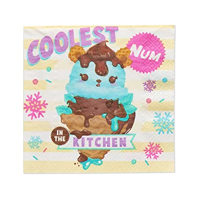 American Greetings Num Noms 16 Count Lunch Paper Party Napkins: Toys & Games
