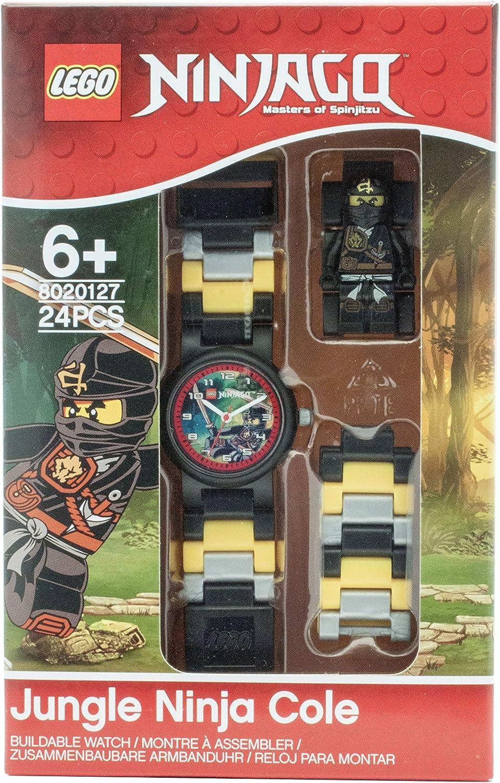 Lego Ninjago Jungle Cole Children's Quartz Watch with Multicolour Dial  Analogue Display and Multicolour Plastic Strap 8020127: Amazon.de: Uhren