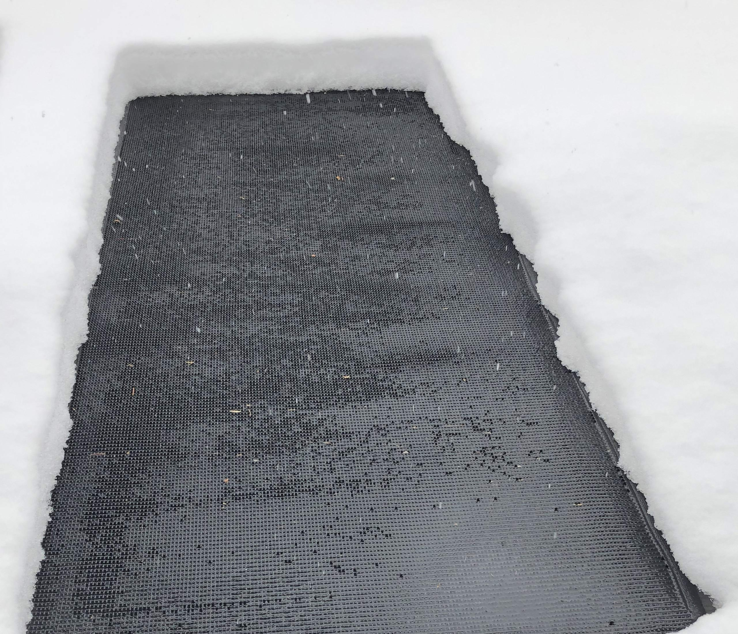 Powerblanket WM36x60 Summerstep Snow and Ice Melting Heated Walkway Mat, Anti-Slip, 120V, 500W, 3' Wide x 5' Long, Black by Summerstep