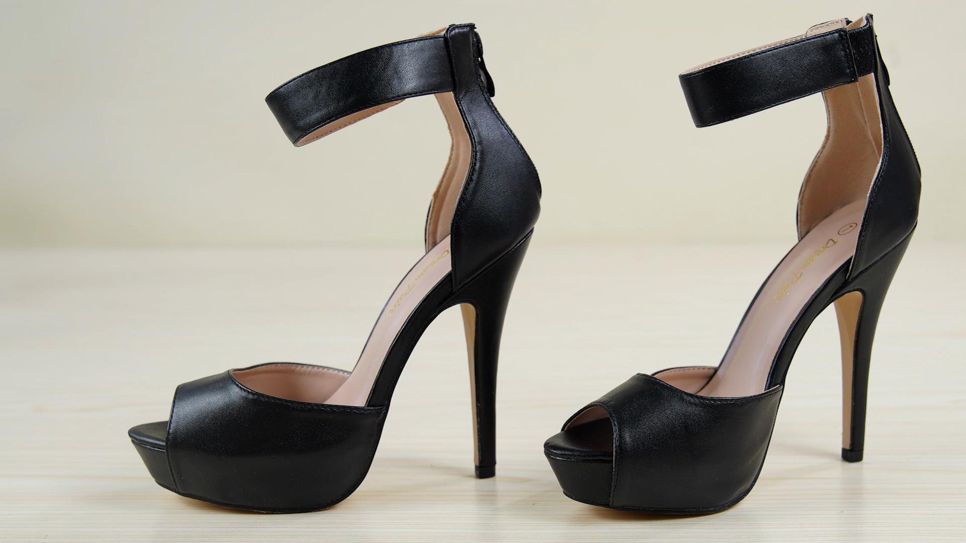 1cdeda49cfd2 DREAM PAIRS Women s Swan High Heel Platform Dress Pump Shoes