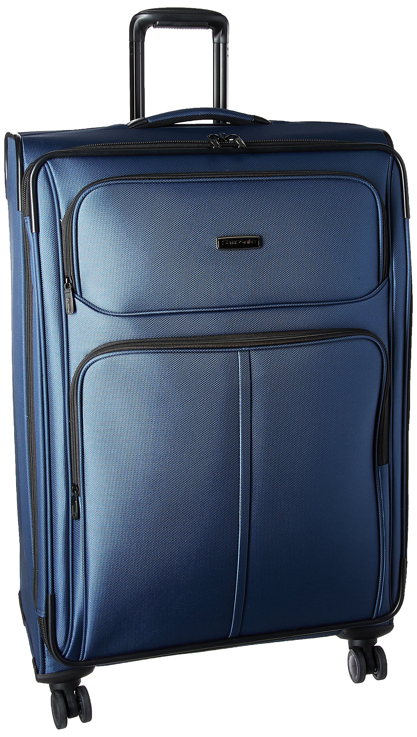 Samsonite Leverage LTE Expandable Softside Checked Luggage with Spinner Wheels, 29 Inch, Poseidon Blue
