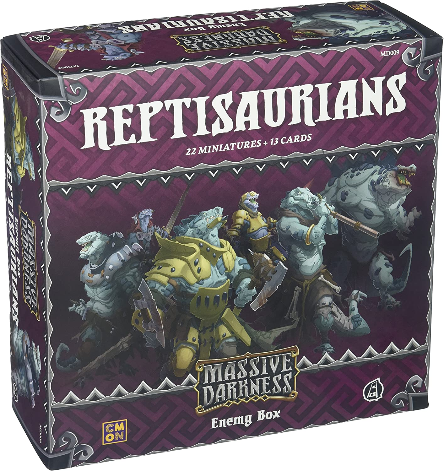 Massive Darkness: Reptisaurians Enemy Box: Amazon.es: Amazon.es