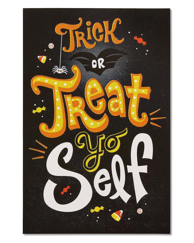 Treat Yo Self Halloween Card 6-count