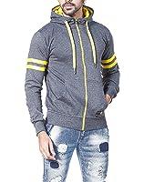 Alan Jones Solid Full Sleeves Men's Sweatshirt